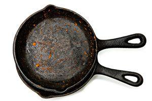 Cómo restaurar utensilios de hierro fundido. Cómo recuperar ollas de hierro fundido. Reparar recipientes de hierro fundido