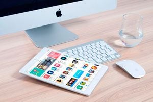 Ilustración de Aplicaciones para Estudiar con el iPad