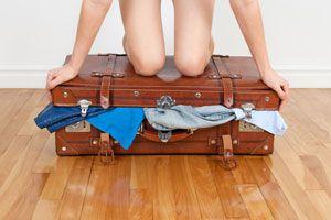 Consejos para hacer las maletas mas livianas. Como alivianar el peso de las maletas. Cómo reducir el peso del equipaje.