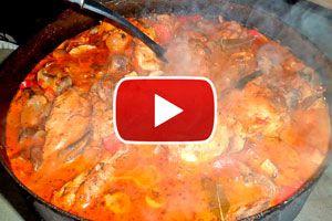 Guía para cocinar un pollo al disco. Cómo preparar pollo al disco. Ingredientes y preparación del pollo al disco