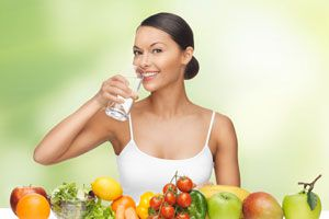 Ilustración de 4 Dietas Sencillas para Bajar de Peso