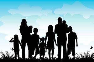 Tips para mejorar la convivencia en una familia numerosa. Cómo convivir en una familia de padres divorciados. Claves para convivir en familias grandes