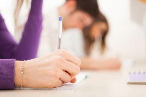 Ilustración de Cómo Evitar los Nervios Durante un Examen