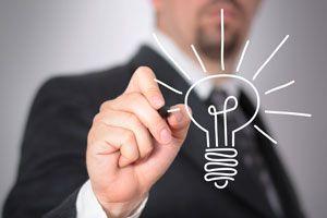 Ilustración de Cómo Generar Nuevas Ideas