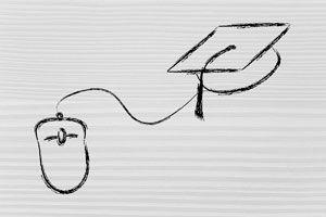 Ilustración de 3 Páginas para Estudiar por Internet