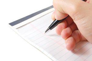 Ilustración de Consejos para Tomar Apuntes en Clases