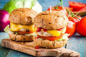 C mo hacer hamburguesas vegetarianas - Hacer hamburguesas vegetarianas ...