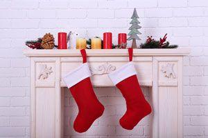 Como Decorar Calcetines Para Navidad.Por Que Se Cuelgan Calcetines Rojos En Navidad
