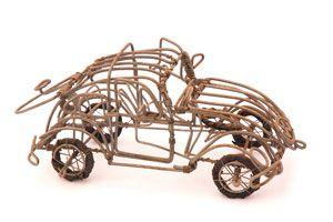 Cómo crear figuras con alambre. Ideas para hacer manualidades de alambre. 5 ideas para crear figuras con alambre