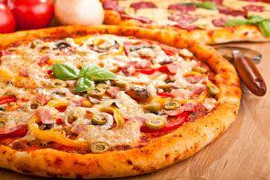 Cómo hacer Pizza con Bordes Rellenos