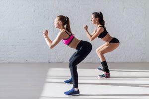 Rutina de ejercicios para adelgazar. Cómo adelgazar ejercitándote 4 minutos al día. Rutina de 6 ejercicios para perder peso.