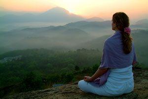 Ilustración de Meditación para Desbloquear el Segundo Chakra