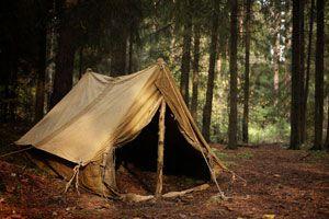 Tips para acampar en el barro. Cómo elegir el lugar para acampar con barro. Consejos para hacer una acampada con barro o fango