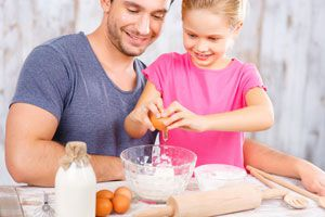 Ilustración de Cómo Enseñar a Cocinar
