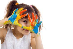 Ilustración de Cómo Enseñar los Colores