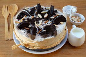 Cómo preparar un cheesecake diferente. 4 recetas de cheesecake con galletas. cómo hacer cheesecake con galletas oreo. Cheesecake con golosinas