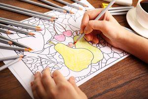 Beneficos de dibujar para quitar el mal humor. Técnica para mejorar el humor dibujando. Cómo tener mejor humor coloreando dibujos