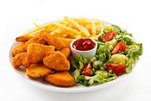 Ilustración de Cómo hacer Nuggets de Pollo Estilo McDonalds