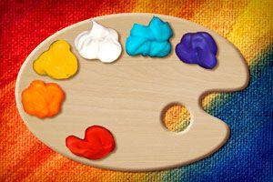 Materiales artísticos caseros para los niños
