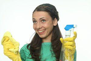 Ahorrando en la limpieza de la cocina
