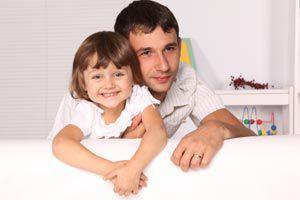 Padre e hija: una relación llena de ternura