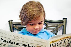 Ilustración de Consejos para iniciar a los niños en el hábito de la lectura