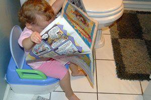 Ilustración de Cuando a los niños les cuesta ir al baño: cómo evitar y eliminar el estreñimiento
