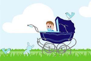 Ilustración de Los primeros paseos con tu bebé