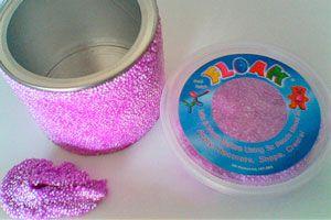 Cómo hacer floam casero para los niños