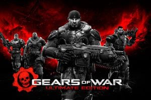Portada del juego Gears of War: Ultimate Edition.