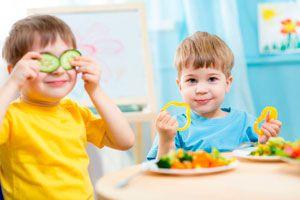 Ilustración de Trucos para que los Niños Coman Verduras