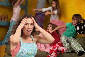 Ilustración de Cómo Ser una Mamá Menos Estresada