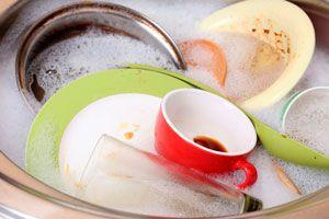 Consejos para lavar la vajilla más fácil. Cómo hacer bombas de remojo para lavar vajilla. Truco para lavar la vajilla fácilmente