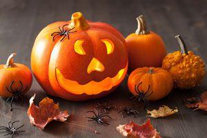 Ilustración de Cómo hacer Linternas de Halloween con Naranjas