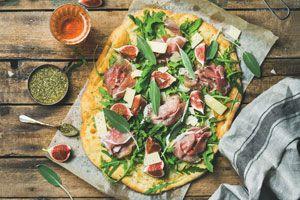 Ilustración de Cómo hacer Pizza para Celíacos