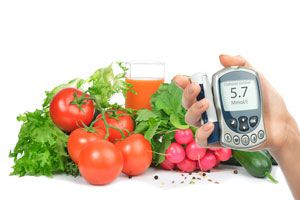 Ilustración de Alimentos Prohibidos para Diabéticos