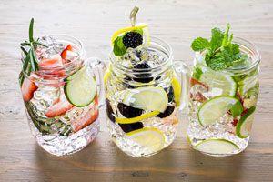 Cómo hacer Aguas Detox