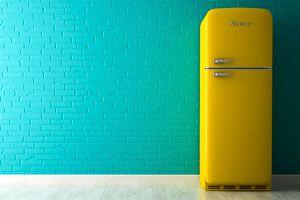 Método para pintar la nevera. Cómo pintar el refrigerador. Pasos para pintar la nevera