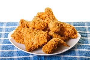 Ilustración de Receta de Pollo Estilo KFC