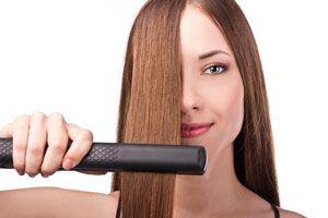 Tips para alisar el pelo de forma temporal. Alisado del cabello de manera temporal. 5 métodos de alisado del cabello