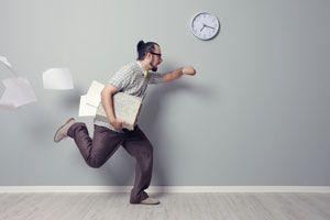 Ilustración de Ley de Parkinson y Administración del Tiempo
