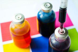 Ilustración de Cómo Pintar con Tinta de Alcohol