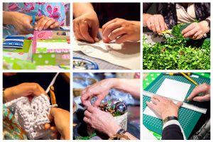 Manualidades, jardineria, tejido. Hobbies que pueden servir para ganar dinero extra