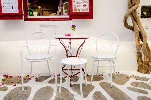 Muebles de exterior restaurados