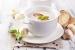 Cómo hacer sopa de castañas y hongos